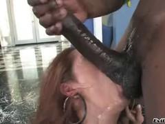 Франческа  Ли сношается с негром