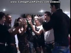 Оргия  на сумасшедшей секс-вечеринке студентов